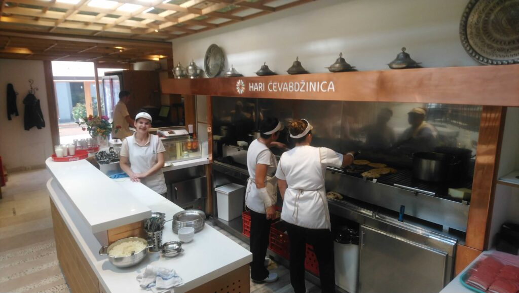 Friendly staff and super fresh food at Hari!