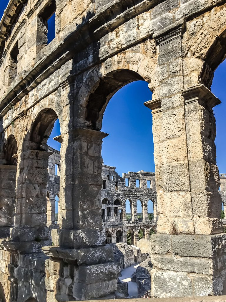 The Amphitheater in Pula