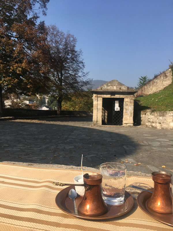 Bosnian Coffee and Jajce Catacombs