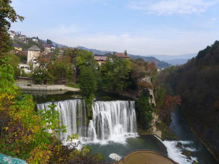 Jajce Falls