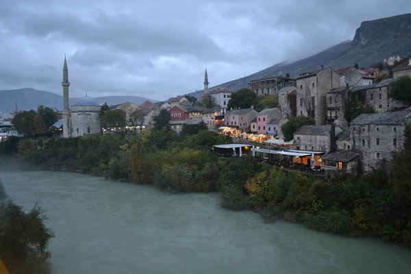 Mostar Old Town View